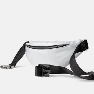 NWT • Zara • Athletic Crossbody Belt Bag
